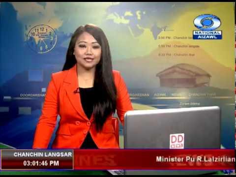 DD News Aizawl, 3:00 PM News 18 Jan 2019