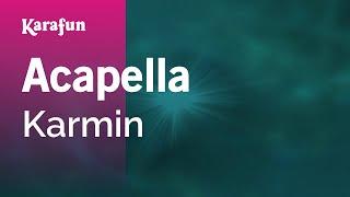 Karaoke Acapella - Karmin *