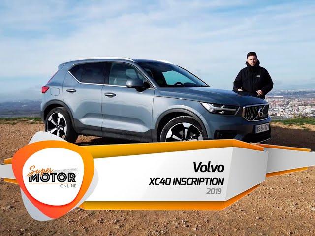 Al volante del Volvo XC-40 2019 / Review / Prueba / SuperMotorOnline.com