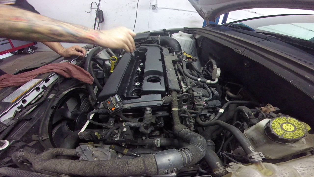 2012 Chevy Malibu Wire Diagram Chevy Cruze 1 8 Valve Cover Replacment Youtube