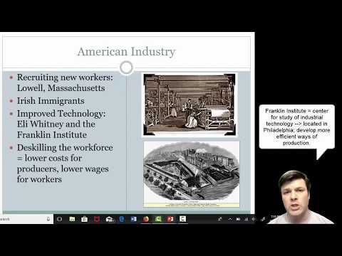 American Industrial Revolution Lecture