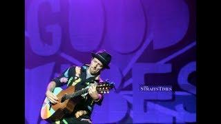 Jason Mraz mesmerised Malaysian music fans