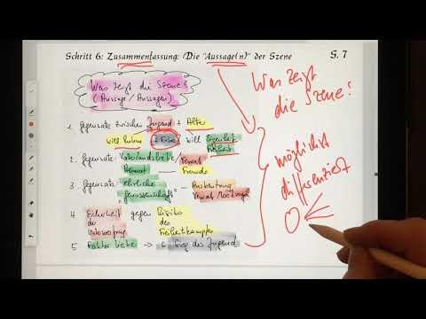 Szenen Analyse Schiller Wilhelm Tell Ii Akt 1 Szene Youtube