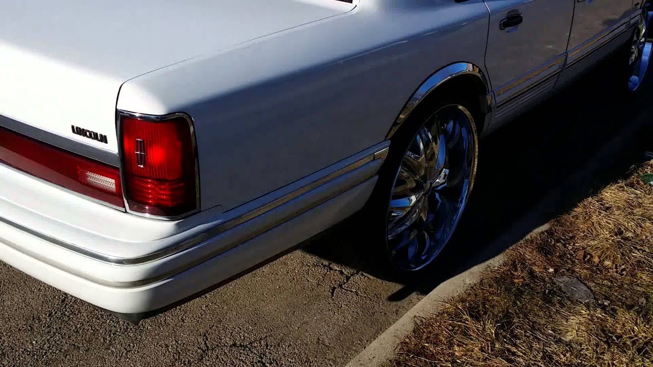 Lincoln Towncar On 26s Youtube