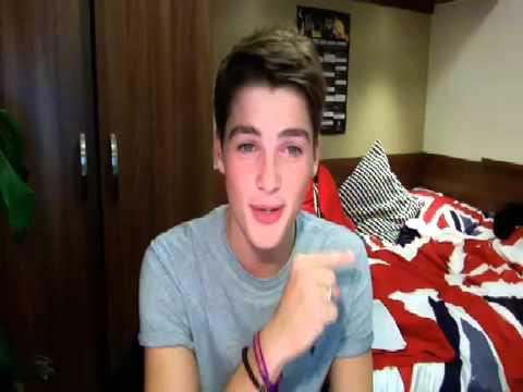 Saying hi from Leeds!   Finn Harries on YouNow com 09 16 2012 FULL