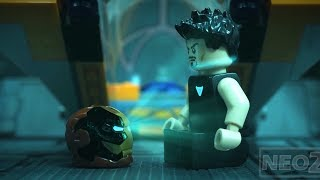 Avengers Endgame Trailer in Lego