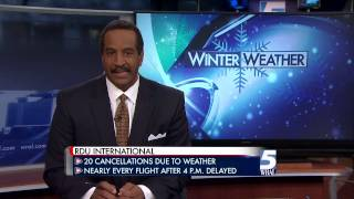 WRAL TV Spot News Winter Weather