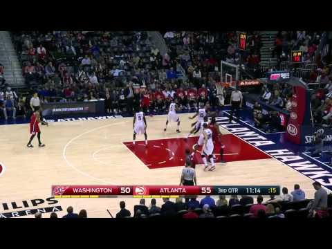 Washington Wizards vs Atlanta Hawks | January 11, 2015 | NBA 2014-15 Season