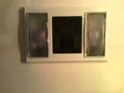 Nutone bathroom exahast fan heater youtube - Bathroom exhaust fan stopped working ...