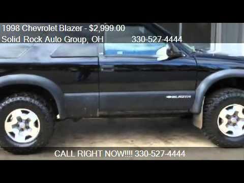 1998 Chevrolet Blazer 2 Door 4wd For Sale In Garrettsville Youtube