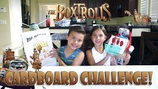 The Boxtrolls Cardboard Challenge! Diy Boxtrolls!