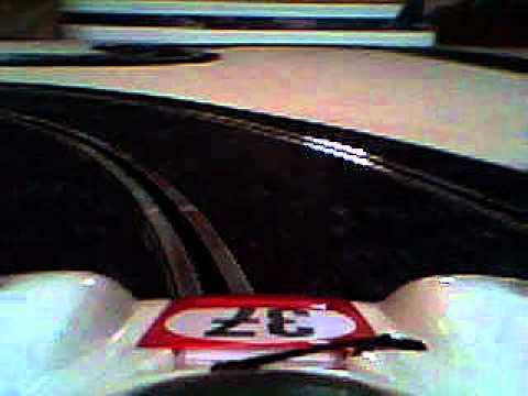 The Secret Life of Toys: Fly Porsche Carrera Slot Car On-Board Camera