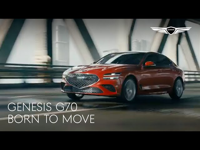 THE NEW GENESIS G70 | BORN TO MOVE_ENG(60')
