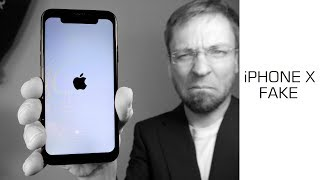 😦 Goophone X - 99$ #ChinaSchrott iPhone X Fake - Daten - Fakten - Test  - Moschuss.de