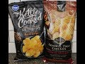 Kroger Sea Salt & Cracked Pepper and Private Selection General Tso's Chicken Kettle Chips Review