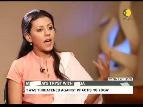 Nouf Marwaai made yoga legal in Saudi Arabia