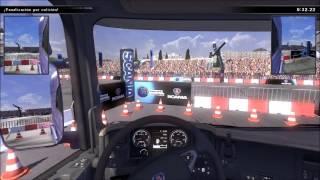 Simulador de Camiones - Pruebas de manejo