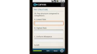 Canvas Checklist For Security Officer Services Mobile App