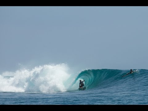 Matt Hoy & Ry Craike Surfing At West Sumbawa (Nomad Tropical Surf Resort)