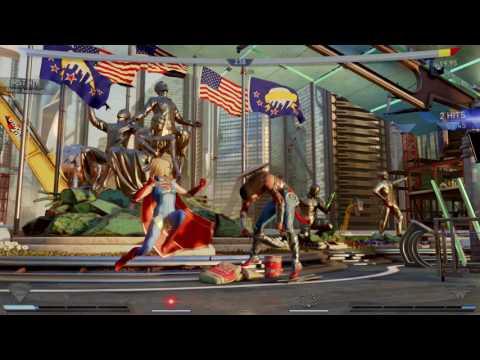 Injustice 2 Supergirl Vs. Wonder Woman