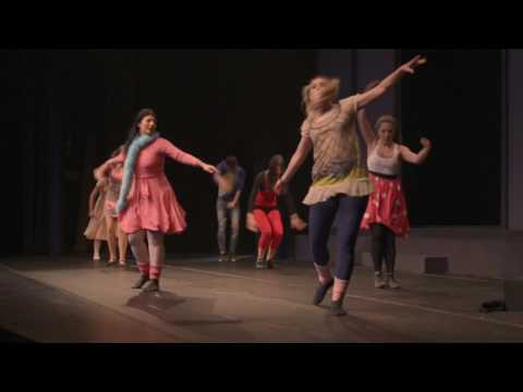 Theatrical Jazz Class | Shiny Happy People | The ProDancers Christmas Show 2016