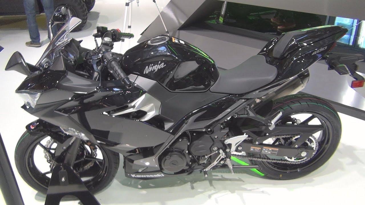 Kawasaki Ninja 400 Black Metallic Spark Black 2019 Exterior And