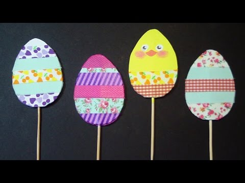 DIY Easter decorations: Eggs, Chicks and Bunnies by ART Tv