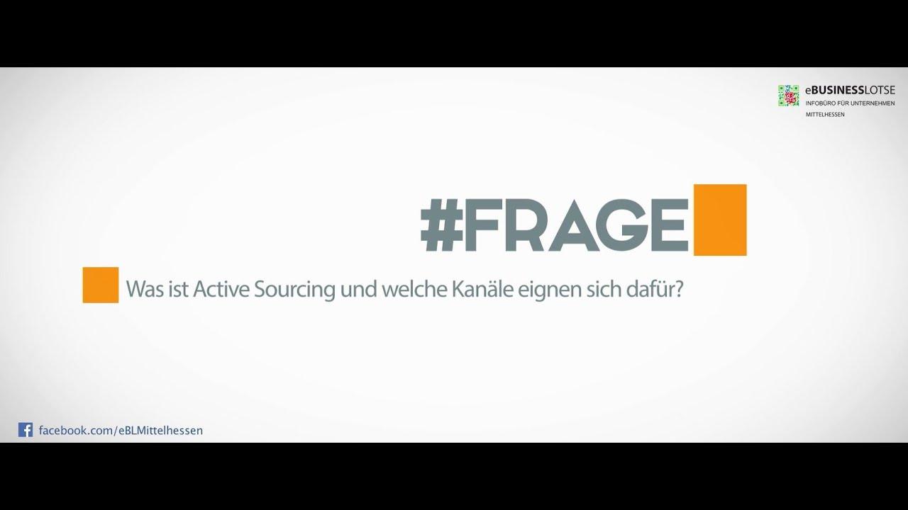 Was Ist Eigentlich Active Sourcing Experte Neeb Erklärt Youtube