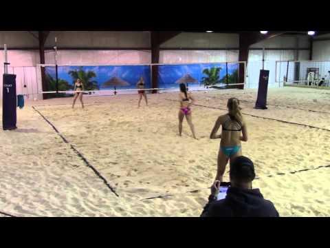 Elena/Mary (Beach South) vs Morgan/Bailey (S3) Finals 2016