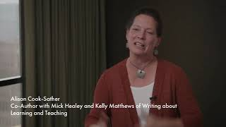 Book trailer for Writing about Learning and Teaching in Higher Education