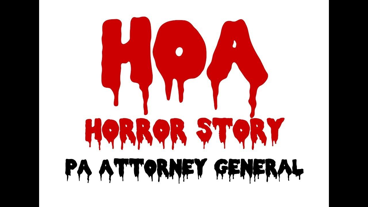 Shohola PA HOA Horror Story - PA Attorney General