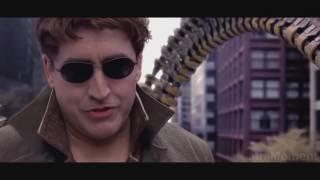 Человек паук против Доктора Осьминога  Сцена в поезде    YouTube