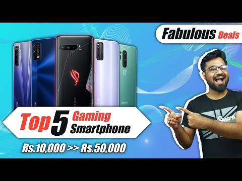 Top 5 Gaming Smartphones to Purchase During Diwali 2020 on Flipkart and Amazon