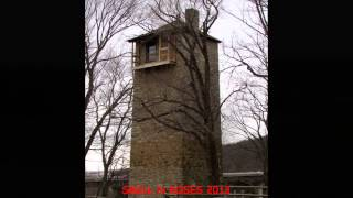 Shot Tower State Historical Park near Austinville, Virginia