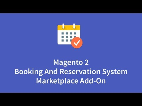 Marketplace Booking and Reservation For Magento2
