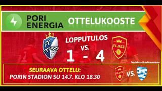 Pori Energia ottelukooste: FC Espoo - FC Jazz 29.6.2019