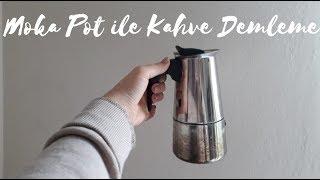 Moka Pot Ile Kahve Nasıl Demlenir?