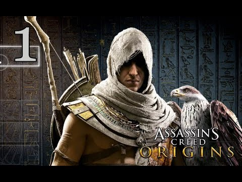 "Assassins Creed Origins - Playthrough #1 ""Medjay"""
