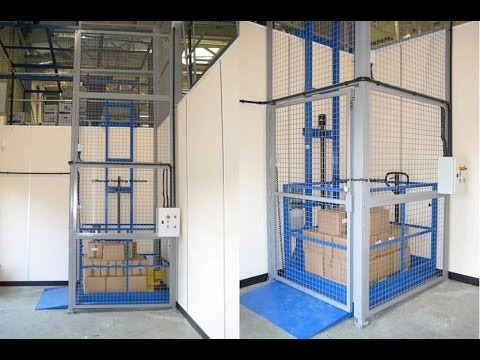 Mezzanine Goods Lift Installation Manual Handling