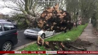 STORM DORIS IN THE UK 23/02/2017