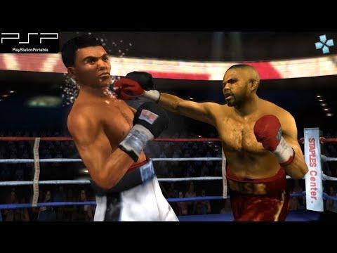 Fight Night Round 3 - PSP Gameplay (PPSSPP)