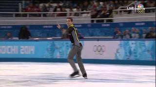 2014 Olympics Men SP 20 FERNANDEZ Javier ESP