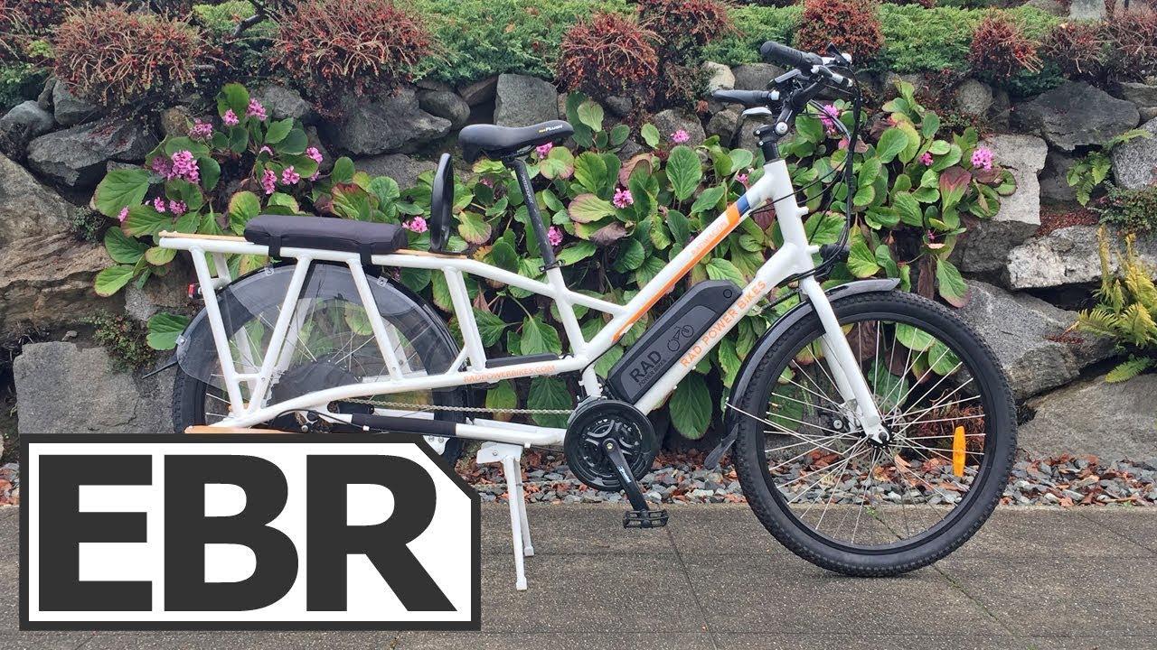 Rad Power Bikes Radwagon Video Review 1 6k Electric