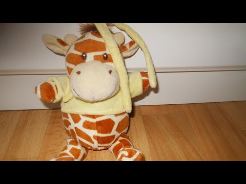Giraffe Musical Pulldown Toy Lullaby