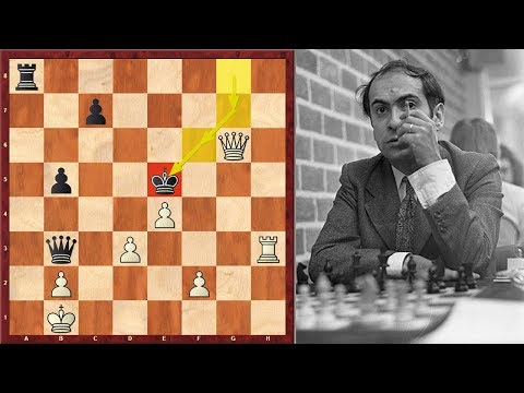 What A King Hunt! You Won't Believe But Mikhail Tal Is On The Black Side