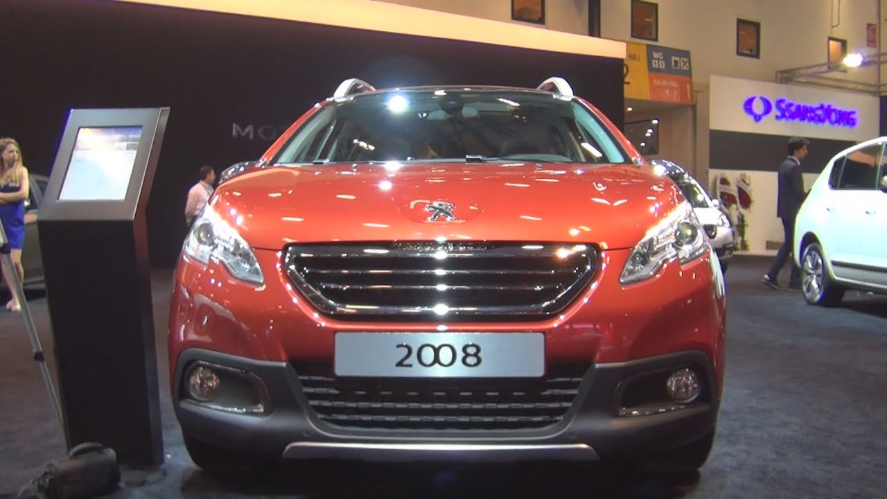 peugeot 2008 allure 16 ehdi 92 hp 2015 exterior and