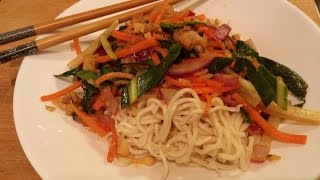 Marinated Fish With Stir Fried Vegetables