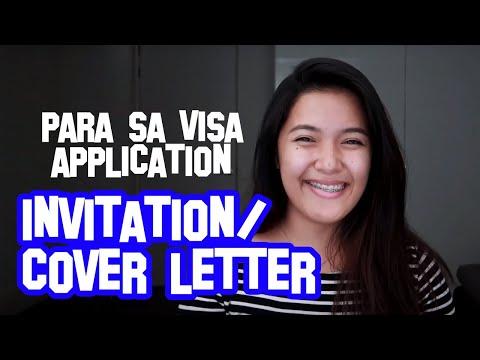 Paano Gumawa Ng Cover Letter Para Sa Schengen Visa Application | The Dutch Pinay Couple | #tdpcvisa