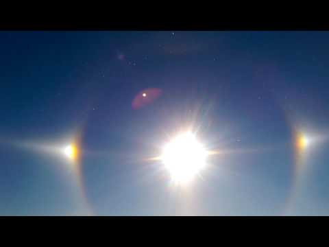 North Dakota sun rings.