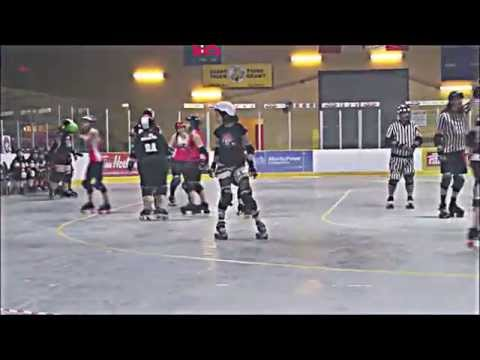Cochrane Derby Gurlz Vs Kirkland Lake Roller Derby
